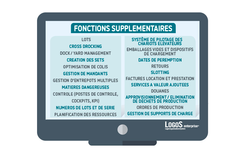 LogoS - Fontions supplementaires