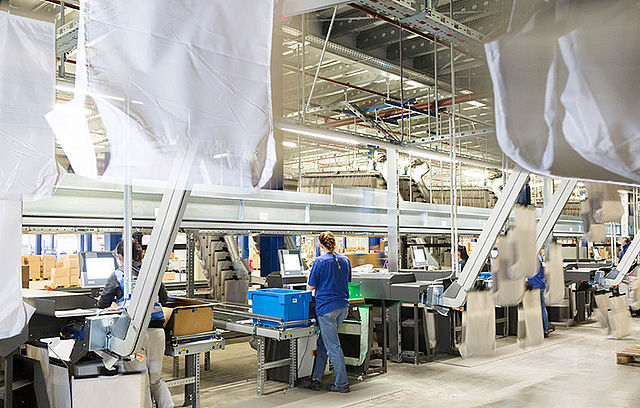 Gigaton puts into operation sorter pocket for textile industry